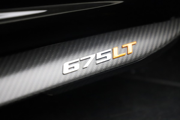 Used 2016 McLaren 675LT COUPE for sale Sold at Bugatti of Greenwich in Greenwich CT 06830 28