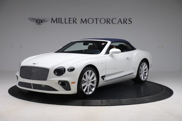 New 2020 Bentley Continental GTC V8 for sale $262,475 at Bugatti of Greenwich in Greenwich CT 06830 13