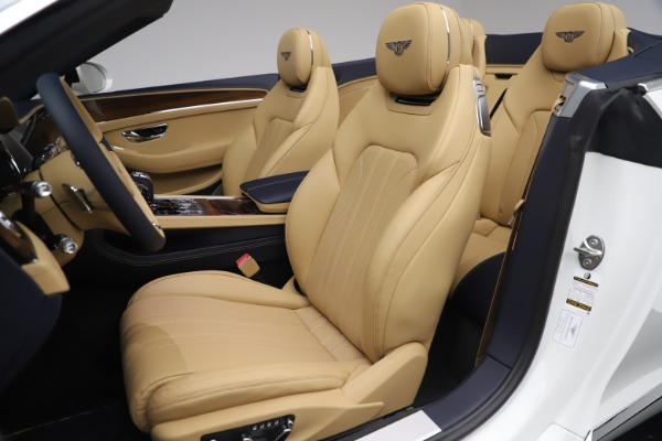 New 2020 Bentley Continental GTC V8 for sale $262,475 at Bugatti of Greenwich in Greenwich CT 06830 26