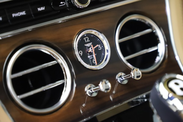 New 2020 Bentley Continental GTC V8 for sale $262,475 at Bugatti of Greenwich in Greenwich CT 06830 28
