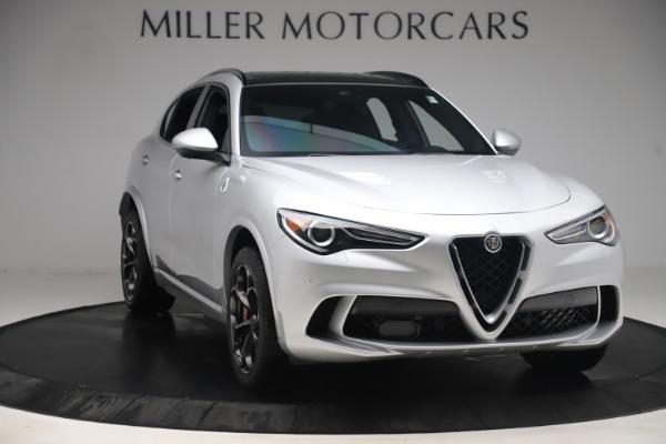 Used 2019 Alfa Romeo Stelvio Quadrifoglio for sale $68,900 at Bugatti of Greenwich in Greenwich CT 06830 11