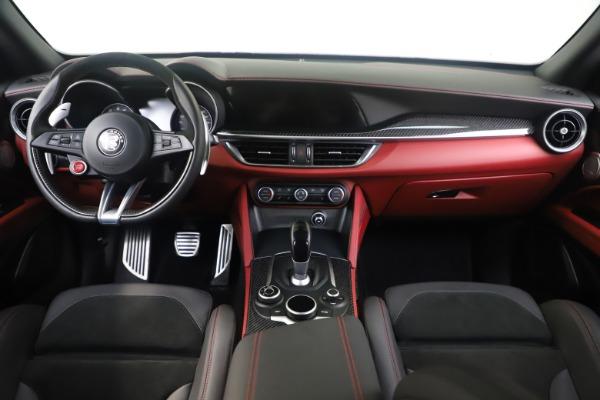 Used 2019 Alfa Romeo Stelvio Quadrifoglio for sale $68,900 at Bugatti of Greenwich in Greenwich CT 06830 16