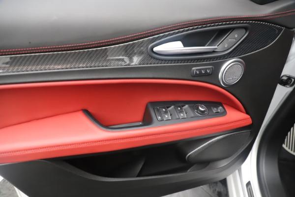 Used 2019 Alfa Romeo Stelvio Quadrifoglio for sale $68,900 at Bugatti of Greenwich in Greenwich CT 06830 17
