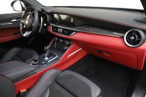 Used 2019 Alfa Romeo Stelvio Quadrifoglio for sale $68,900 at Bugatti of Greenwich in Greenwich CT 06830 22