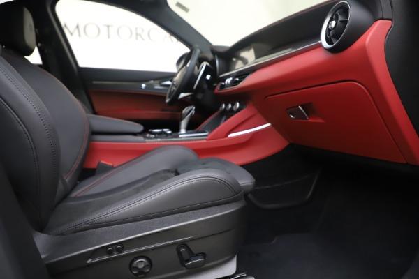 Used 2019 Alfa Romeo Stelvio Quadrifoglio for sale $68,900 at Bugatti of Greenwich in Greenwich CT 06830 23