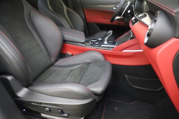 Used 2019 Alfa Romeo Stelvio Quadrifoglio for sale $68,900 at Bugatti of Greenwich in Greenwich CT 06830 24