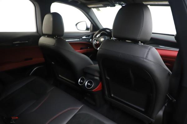 Used 2019 Alfa Romeo Stelvio Quadrifoglio for sale $68,900 at Bugatti of Greenwich in Greenwich CT 06830 28