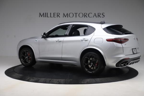 Used 2019 Alfa Romeo Stelvio Quadrifoglio for sale $68,900 at Bugatti of Greenwich in Greenwich CT 06830 4