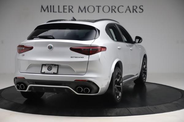 Used 2019 Alfa Romeo Stelvio Quadrifoglio for sale $68,900 at Bugatti of Greenwich in Greenwich CT 06830 7