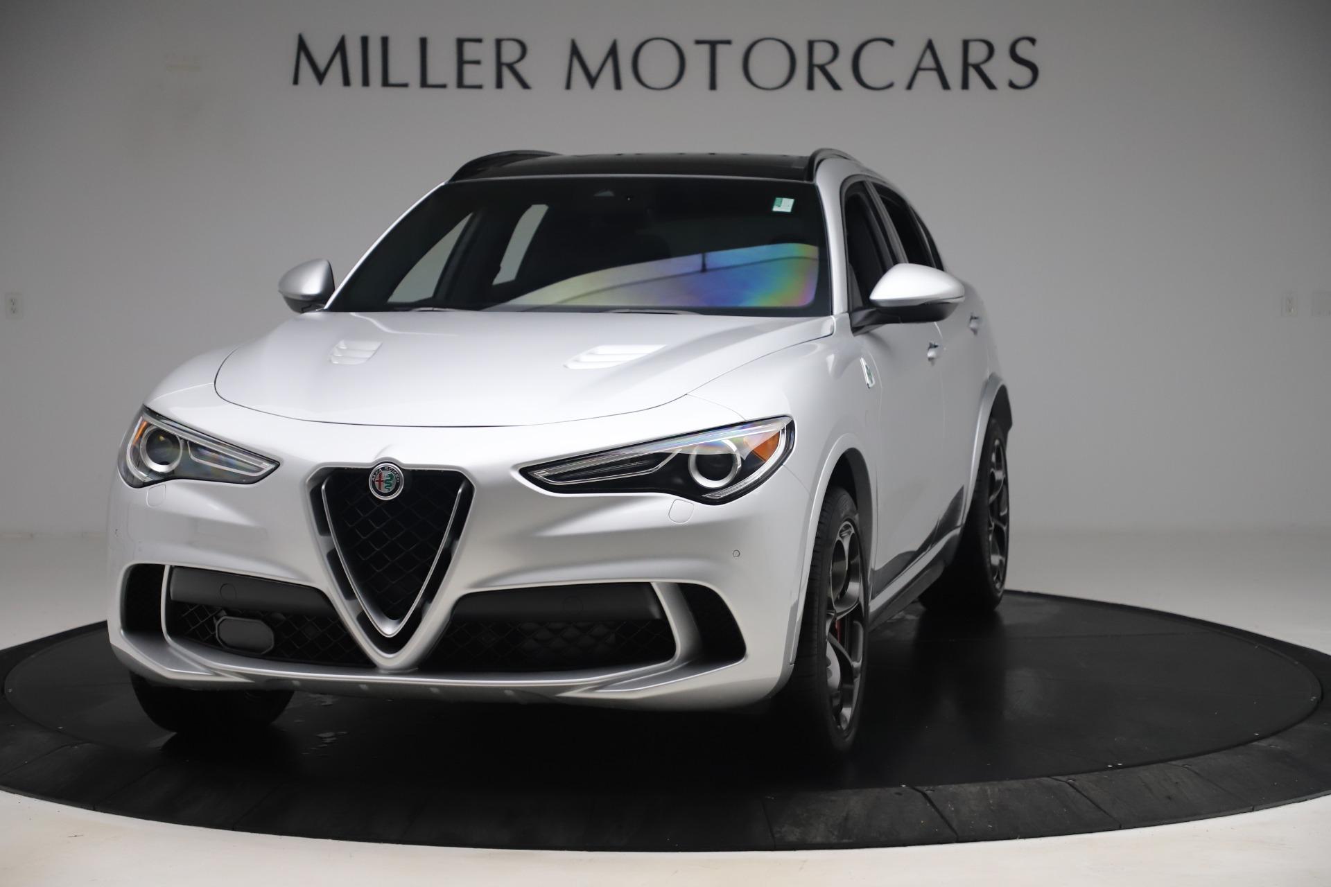 Used 2019 Alfa Romeo Stelvio Quadrifoglio for sale $68,900 at Bugatti of Greenwich in Greenwich CT 06830 1