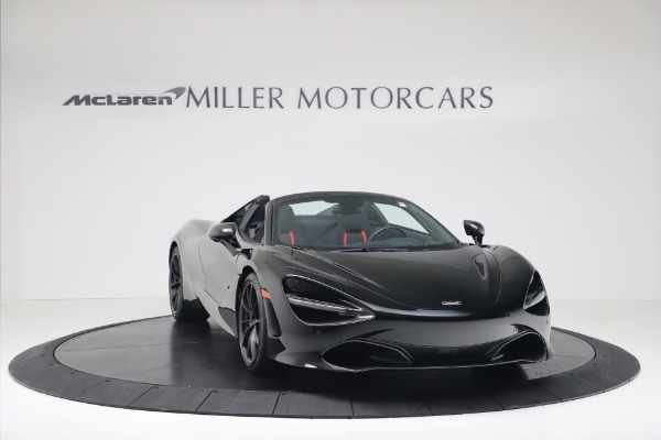 New 2020 McLaren 720S Spider Convertible for sale $383,090 at Bugatti of Greenwich in Greenwich CT 06830 10