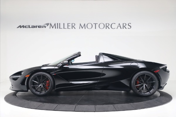 New 2020 McLaren 720S Spider Convertible for sale $383,090 at Bugatti of Greenwich in Greenwich CT 06830 2
