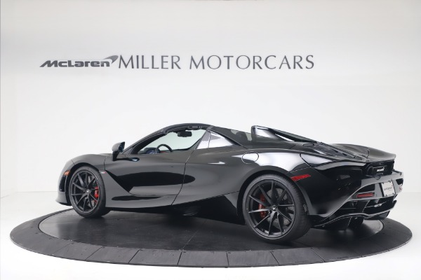 New 2020 McLaren 720S Spider Convertible for sale $383,090 at Bugatti of Greenwich in Greenwich CT 06830 3
