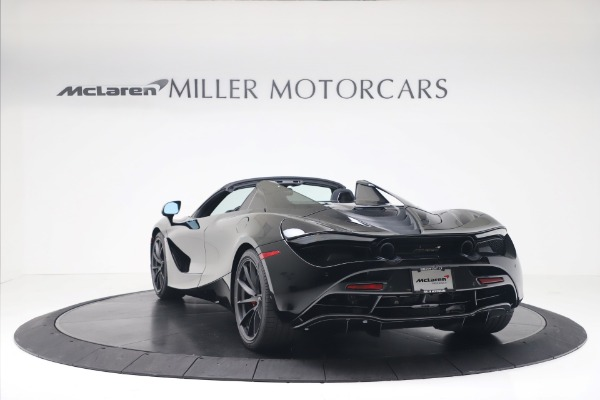 New 2020 McLaren 720S Spider Convertible for sale $383,090 at Bugatti of Greenwich in Greenwich CT 06830 4