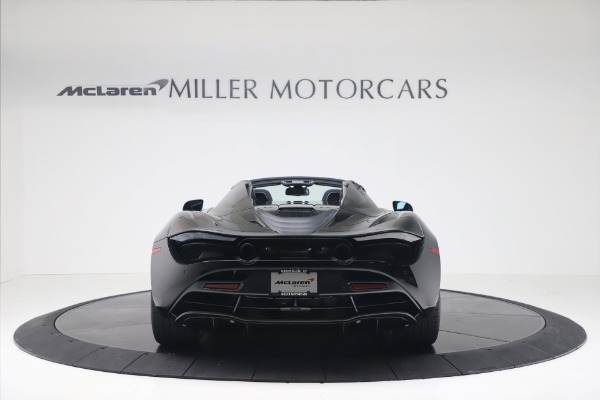 New 2020 McLaren 720S Spider Convertible for sale $383,090 at Bugatti of Greenwich in Greenwich CT 06830 5