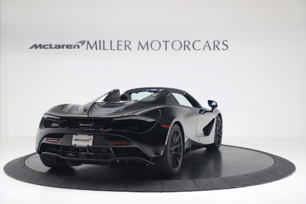 New 2020 McLaren 720S Spider Convertible for sale $383,090 at Bugatti of Greenwich in Greenwich CT 06830 6