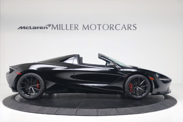 New 2020 McLaren 720S Spider Convertible for sale $383,090 at Bugatti of Greenwich in Greenwich CT 06830 8