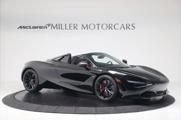New 2020 McLaren 720S Spider Convertible for sale $383,090 at Bugatti of Greenwich in Greenwich CT 06830 9