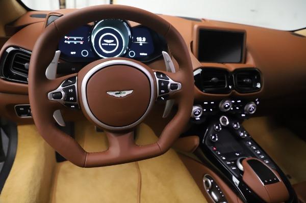 New 2020 Aston Martin Vantage Coupe for sale $180,450 at Bugatti of Greenwich in Greenwich CT 06830 17