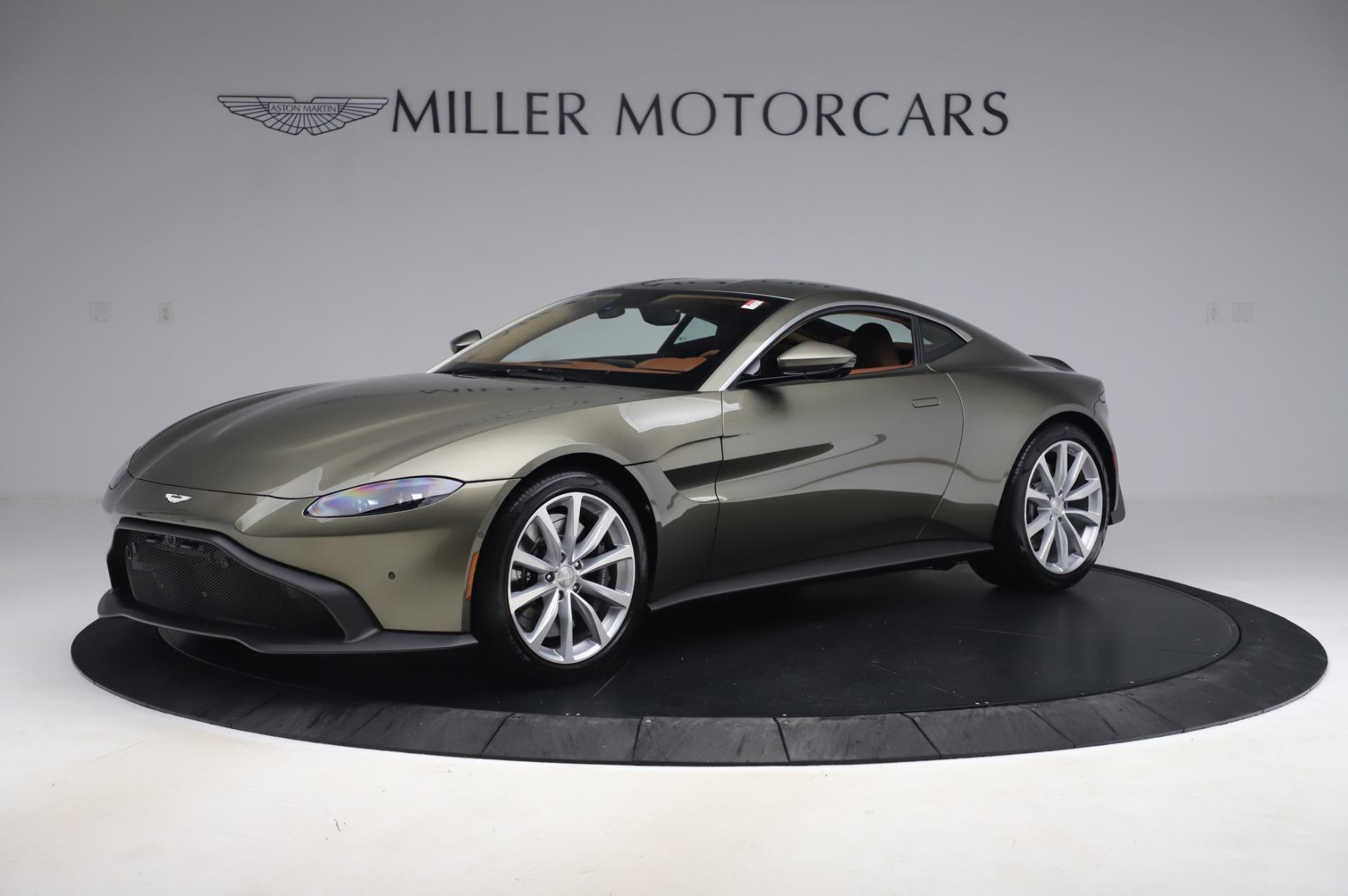 New 2020 Aston Martin Vantage Coupe for sale $180,450 at Bugatti of Greenwich in Greenwich CT 06830 1