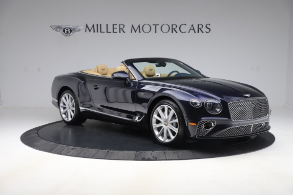 New 2020 Bentley Continental GTC V8 for sale $262,475 at Bugatti of Greenwich in Greenwich CT 06830 10