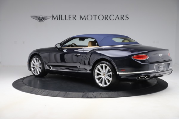 New 2020 Bentley Continental GTC V8 for sale $262,475 at Bugatti of Greenwich in Greenwich CT 06830 14