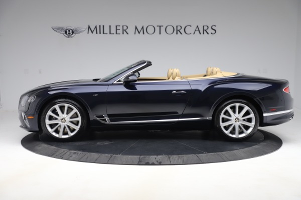 New 2020 Bentley Continental GTC V8 for sale $262,475 at Bugatti of Greenwich in Greenwich CT 06830 2