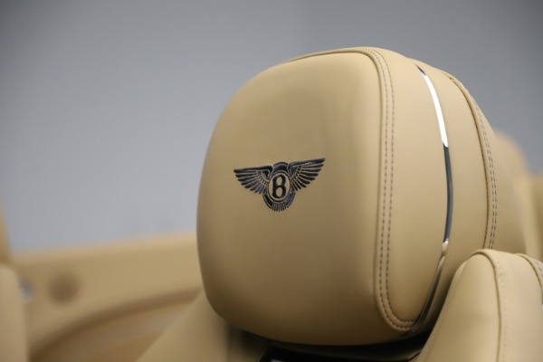 New 2020 Bentley Continental GTC V8 for sale $262,475 at Bugatti of Greenwich in Greenwich CT 06830 25