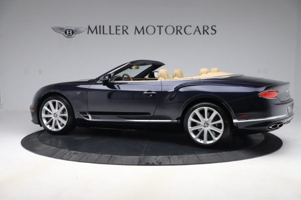New 2020 Bentley Continental GTC V8 for sale $262,475 at Bugatti of Greenwich in Greenwich CT 06830 3