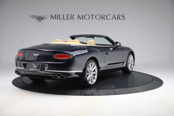 New 2020 Bentley Continental GTC V8 for sale $262,475 at Bugatti of Greenwich in Greenwich CT 06830 6