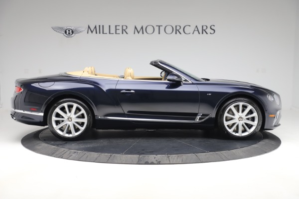 New 2020 Bentley Continental GTC V8 for sale $262,475 at Bugatti of Greenwich in Greenwich CT 06830 8