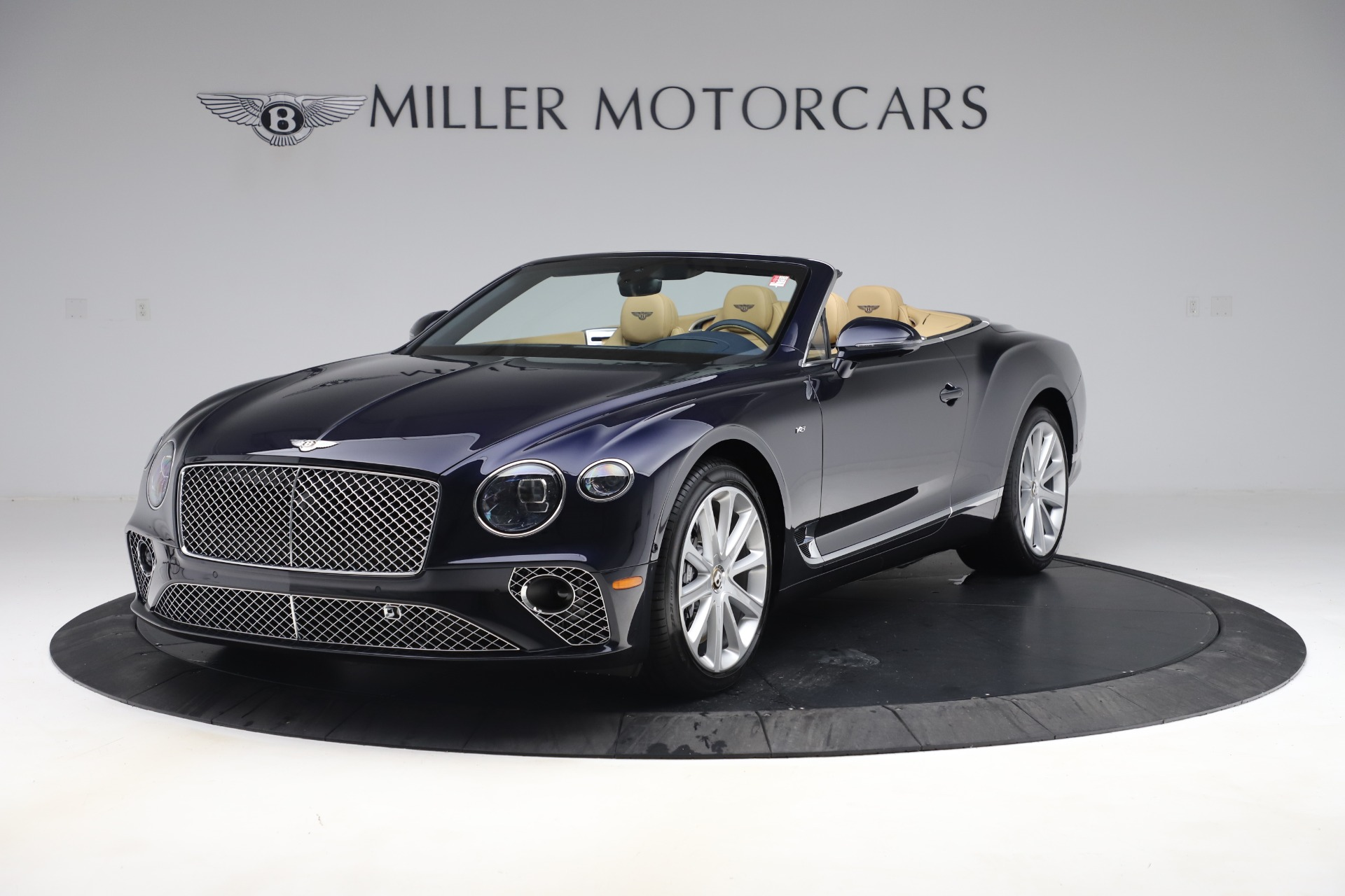 New 2020 Bentley Continental GTC V8 for sale $262,475 at Bugatti of Greenwich in Greenwich CT 06830 1