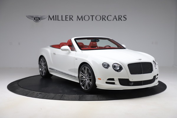 Used 2015 Bentley Continental GTC Speed for sale $125,900 at Bugatti of Greenwich in Greenwich CT 06830 11