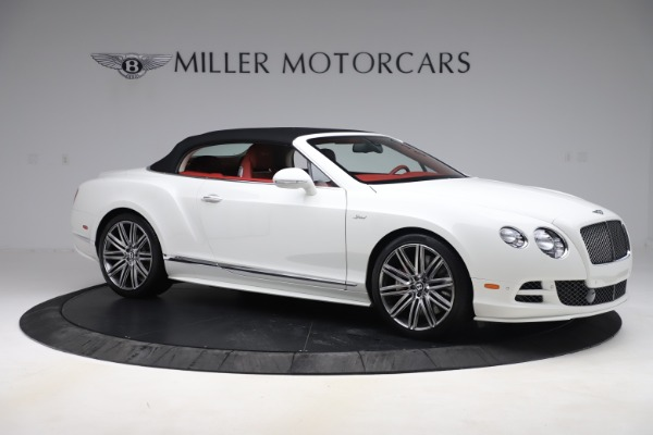 Used 2015 Bentley Continental GTC Speed for sale $125,900 at Bugatti of Greenwich in Greenwich CT 06830 18