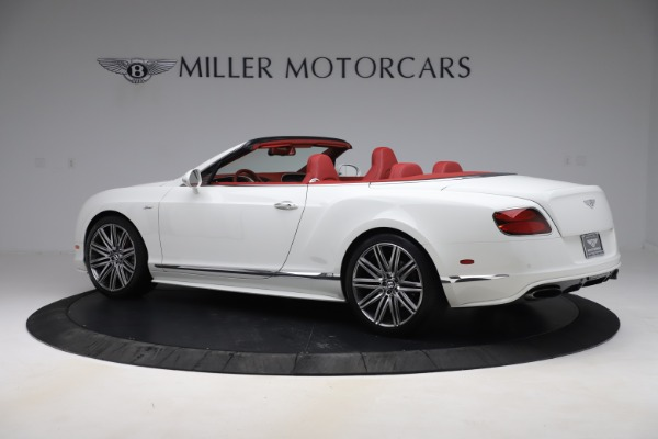 Used 2015 Bentley Continental GTC Speed for sale $125,900 at Bugatti of Greenwich in Greenwich CT 06830 4