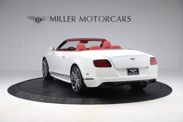 Used 2015 Bentley Continental GTC Speed for sale $125,900 at Bugatti of Greenwich in Greenwich CT 06830 5