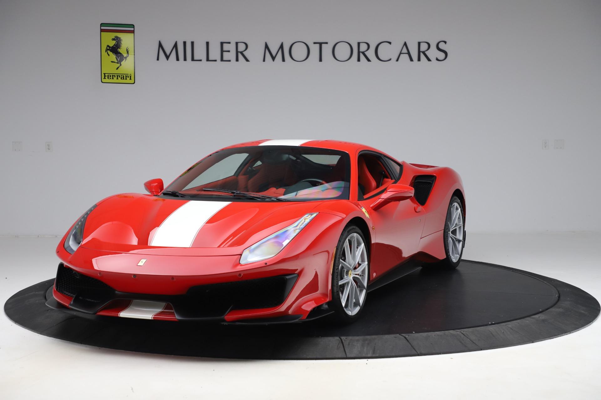 Used 2019 Ferrari 488 Pista for sale $449,900 at Bugatti of Greenwich in Greenwich CT 06830 1