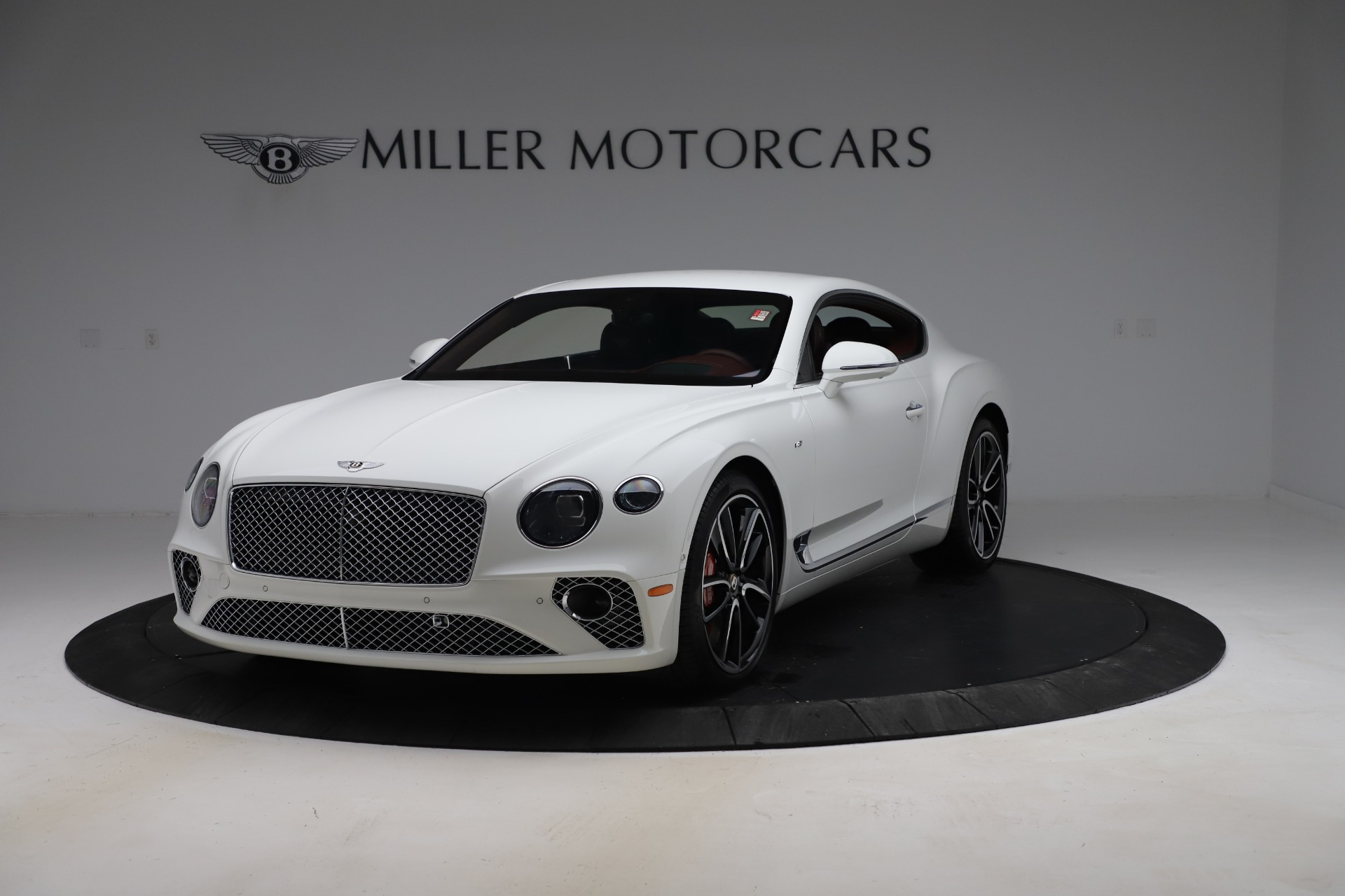 New 2020 Bentley Continental GT V8 for sale $261,360 at Bugatti of Greenwich in Greenwich CT 06830 1