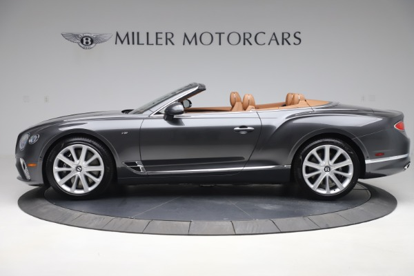 New 2020 Bentley Continental GTC V8 for sale Sold at Bugatti of Greenwich in Greenwich CT 06830 3