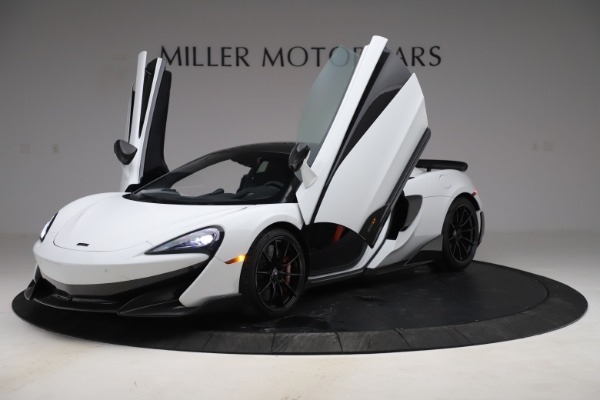 Used 2019 McLaren 600LT Coupe for sale $229,990 at Bugatti of Greenwich in Greenwich CT 06830 10