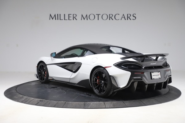 Used 2019 McLaren 600LT Coupe for sale $219,900 at Bugatti of Greenwich in Greenwich CT 06830 3