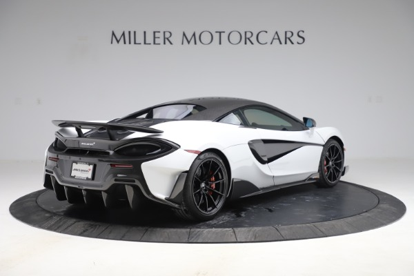 Used 2019 McLaren 600LT Coupe for sale $219,900 at Bugatti of Greenwich in Greenwich CT 06830 5