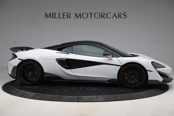 Used 2019 McLaren 600LT Coupe for sale $219,900 at Bugatti of Greenwich in Greenwich CT 06830 6