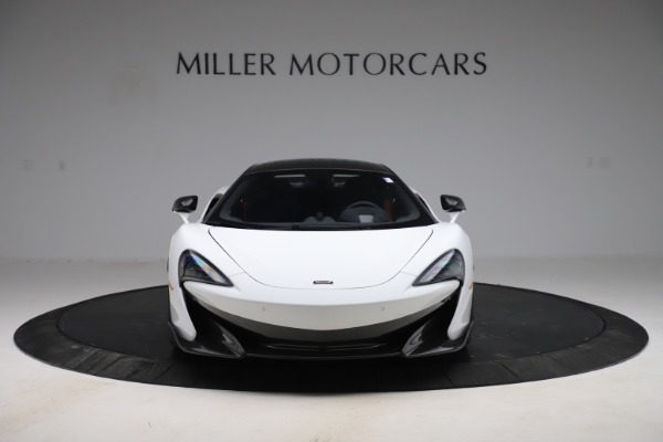 Used 2019 McLaren 600LT Coupe for sale $219,900 at Bugatti of Greenwich in Greenwich CT 06830 8