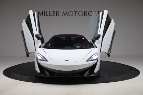 Used 2019 McLaren 600LT Coupe for sale $219,900 at Bugatti of Greenwich in Greenwich CT 06830 9