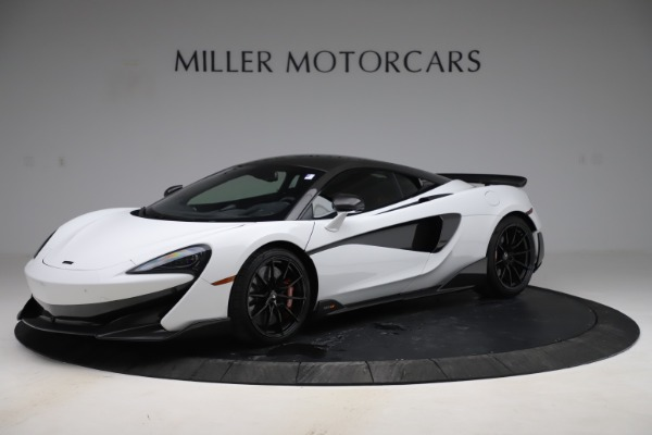 Used 2019 McLaren 600LT Coupe for sale $229,990 at Bugatti of Greenwich in Greenwich CT 06830 1