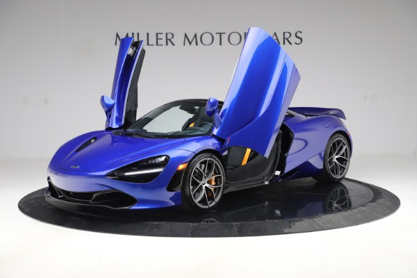 New 2020 McLaren 720S Spider Convertible for sale $364,090 at Bugatti of Greenwich in Greenwich CT 06830 10