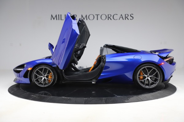 New 2020 McLaren 720S Spider Convertible for sale $364,090 at Bugatti of Greenwich in Greenwich CT 06830 11