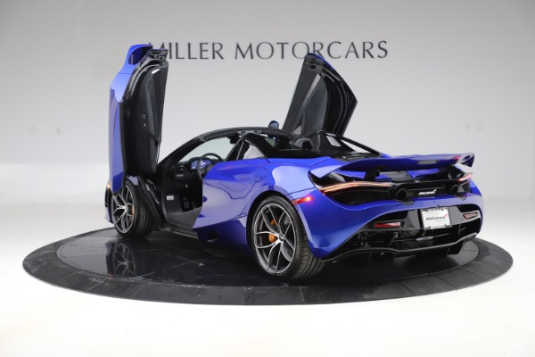 New 2020 McLaren 720S Spider Convertible for sale $364,090 at Bugatti of Greenwich in Greenwich CT 06830 12