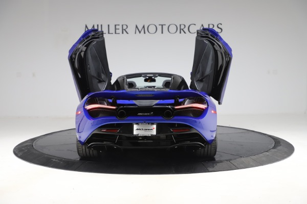 New 2020 McLaren 720S Spider Convertible for sale $364,090 at Bugatti of Greenwich in Greenwich CT 06830 13